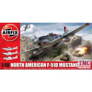 A05136 Airfix 1:48 Scale North American F51D Mustang