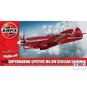 A05139 Airfix 1:48 Scale Supermarine Spitfire MkXIV Civilian Schemes