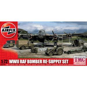 A05330 Airfix 1:72 Scale Bomber Re-supply Set