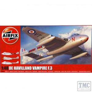 A06107 Airfix 1:48 Scale de Havilland Vampire T.3