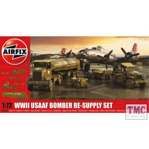 A06304 Airfix 1:72 Scale WWII USAAF 8th Bomber Resupply Set