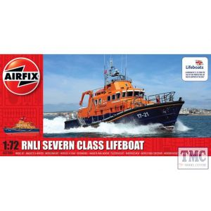 A07280 Airfix 1:72 Scale RNLI Severn Class Lifeboat