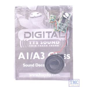 Hornby Class A1/A3 TTS Digital Sound Chip Decoder - 8 Pin with Speaker (R8106)(Removed from Brand New loco)