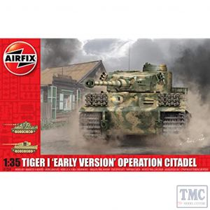 A1354 Airfix 1:35 Scale Tiger-1 Early Version - Operation Citadel