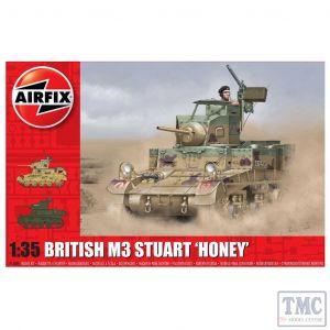 A1358 Airfix 1:35 Scale M3 Stuart Honey