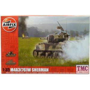 A1365 Airfix 1:35 Scale M4A3(76)W Battle of the Bulge