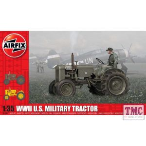 A1367 Airfix 1:35 Scale WWII U.S. Military Tractor