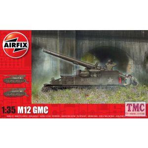 A1372 Airfix 1:35 Scale M12 GMC