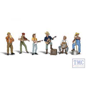A1902 Woodland Scenics Painted Figures HO Jug Band