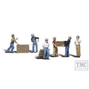 A2729 Woodland Scenics Painted Figures O Dock Workers