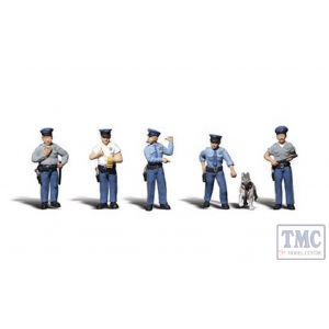 A2736 Woodland Scenics Painted Figures O Policemen