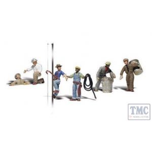 A2742 Woodland Scenics Painted Figures O City Workers