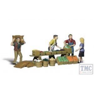 A2750 Woodland Scenics Painted Figures O Farmers Market