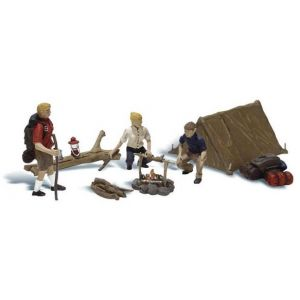 A2754 Woodland Scenics Painted Figures O Campers