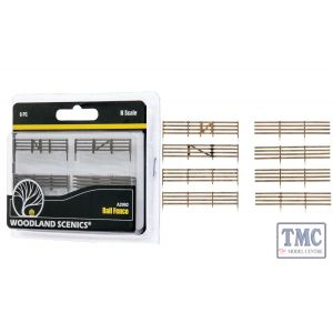 A2992 Woodland Scenics N Scale Board Fence