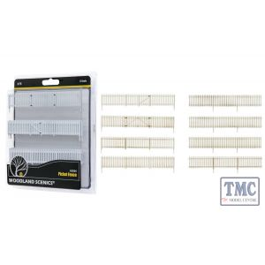 A3004 Woodland Scenics O Scale Picket Fence