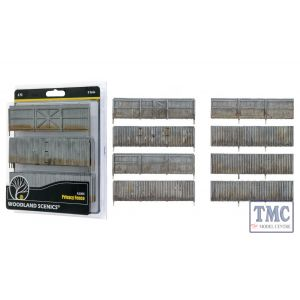 A3005 Woodland Scenics O Scale Privacy Fence