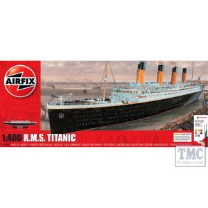 A50146A Airfix 1:400 Scale RMS Titanic Large Gift Set