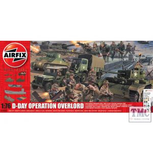 A50162A Airfix 1:76 Scale D-Day Operation Overlord Set