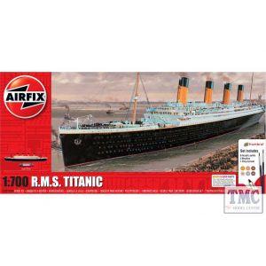 A50164A Airfix 1:700 Scale RMS Titanic Medium Gift Set