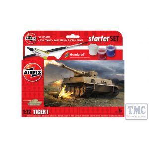 A55004 Airfix 1:72 Scale Starter Set NEW Tiger 1