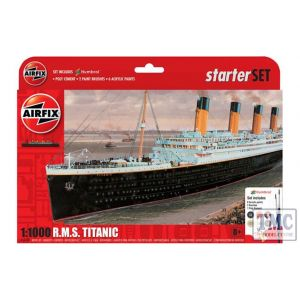 A55314 Airfix 1:100 Scale RMS Titanic Small Gift Set