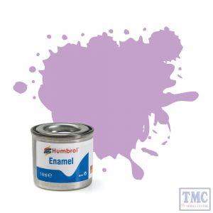 AA0042 Humbrol No 42 Pastel Violet Matt  Enamel Tinlet No 1 (14ml)