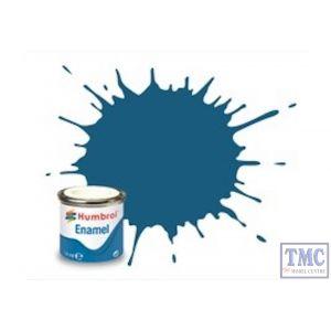 AA1701 Humbrol No 157 Azure Blue Matt Tinlet No 1 (14ml)