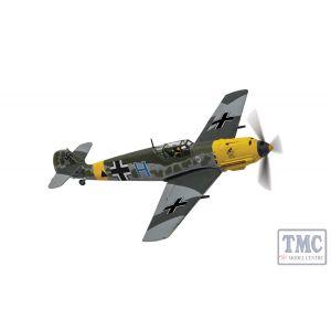 AA28007 Corgi 1:72 Scale Messerschmitt Bf 109E-7/B 'Blue H' Triangle, II./Schlachtgeschwader 1, Stalingrad, Luftwaffe Ground Support Jabo, Winter 1942/43
