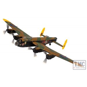 AA32627 Corgi 1:72 Scale Avro Lancaster B MKIII- LM739 HW Z2 Grogs the Shot RAF 100 Squadron Elsham Wolds 25th April 1945