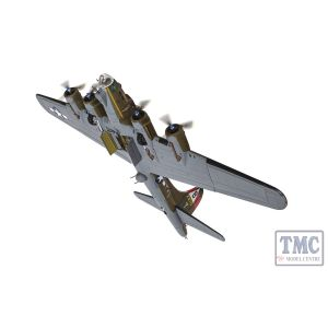 AA33320 Corgi 1:72 Scale Boeing B-17G-25-BO Flying Fortress- 42-31713 / UX-T- 'Snake Hips'- 327th BS- 92nd BG- RAF Podington- 24th August 1944
