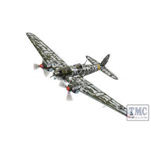 AA33718 Corgi 1:72 Scale Heinkel He-111 H-6, W. Nr. 4500, A1+FN, Lt. Erich Horn, 5./KG53, Crashed behind German Lines, Yukhnov, West of Moscow, 21st January 1942