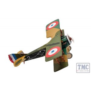 AA37909 Corgi 1:48 Scale Spad XIII 'White 3', Pierre Marinovitch, Escadrille Spa 94 'The Reapers', Youngest French Air Ace of WWI.