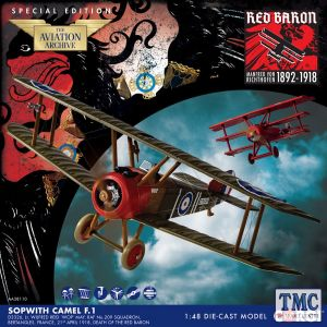 AA38110 Corgi 1:48 Scale Sopwith Camel F.1. Wilfred May, 21st April 1918, Death of the Red Baron. WWI