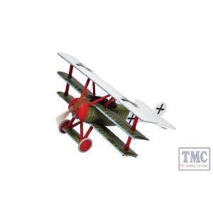 AA38312 Corgi 1:48 Scale Fokker DR1 Triplane Ltn Hans Weiss WWI