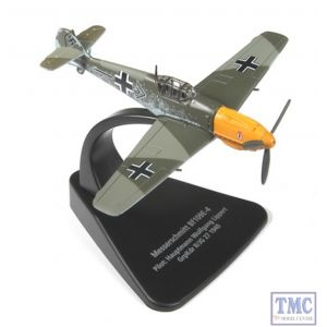 AC002 Oxford Diecast 1:72 Scale Messerschmitt Bf 109E-4 Model Aircraft
