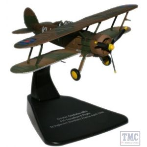 AC023M Oxford Diecast 1:72 Scale Gloster Gladiator