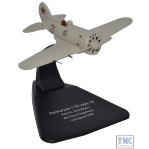 AC049 Oxford Diecast 1:72 Scale Polikarpov I-16 4th Guard Reg Leningrad 1942