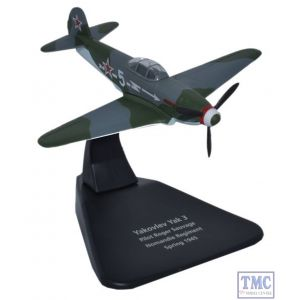 AC054 Oxford Diecast 1:72 Scale Yak 3 Normandie Regiment 1945