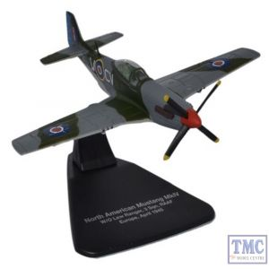 AC060 Oxford Diecast 1:72 Scale Mustang MkIV RAAF Europe 1945