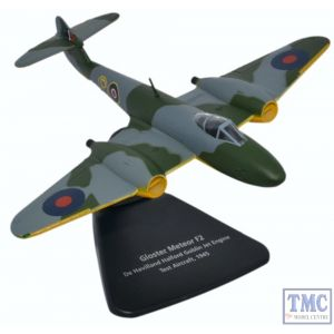 AC068 Oxford Diecast 1:72 Scale Gloster Meteor F2 De Havilland Halford Goblin Jet Test