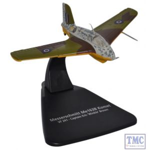 AC073 Oxford Diecast 1:72 Scale Eric Brown ME163 Standard Version