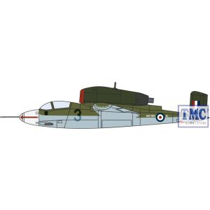 AC076 Oxford Diecast 1:72 Scale Heinkel He162 Air Min 61 W.Nr.120072 RAF 1945