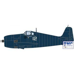 AC078 Oxford Diecast 1:72 Scale Grumman Hellcat VF31 Lt. Ray Hawkins. USS Cabot 1944
