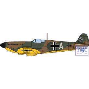 AC086 Oxford Diecast 1:72 Scale Spitfire 1A N3277 Luftwaffe
