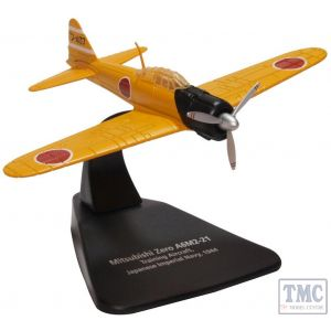 AC092 Oxford Diecast 1:72 Scale Mitsubishi A6M2 Imperial Japanese Navy