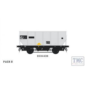 ACC1041-HUO-O-B Accurascale O Gauge BR 24.5T HOP24/HUO Coal Hopper - B - B334438