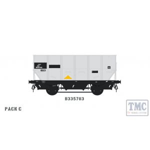 ACC1042-HUO-O-C Accurascale O Gauge BR 24.5T HOP24/HUO Coal Hopper - C - B335703
