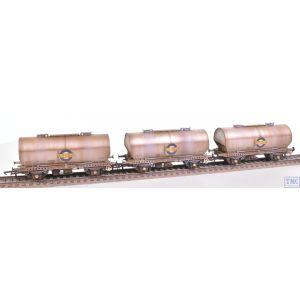 ACC1051-PCV-B Accurascale OO Gauge APCM Cemflo / PCV Powder Wagon - Triple Pack - LA212