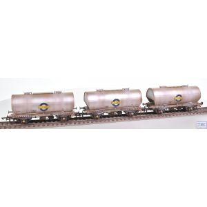 ACC1054-PCV-E Accurascale OO Gauge APCM Cemflo / PCV Powder Wagon - Triple Pack - LA242